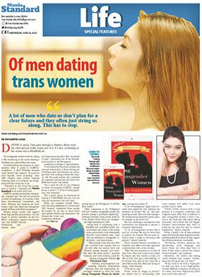 Dating Transgender Women for Gentlemen Manila Standard Article