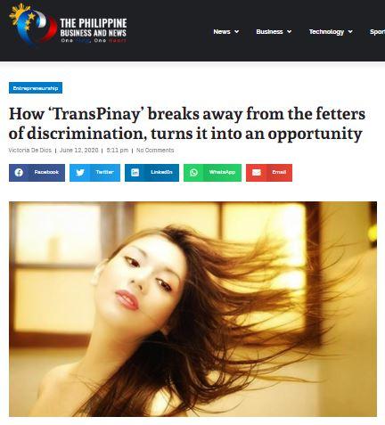 ThePhilBizNews Dating Transgender Women for Gentlemen Book